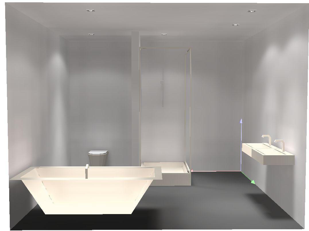 Hausbau-Nickern Blog: Verkabelung LED-Beleuchtung Bad