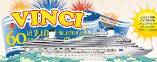 Logo Tigella ti fa vincere ancora 60 crociere con Mare&Allegria