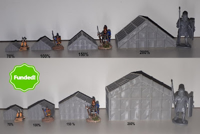 As you can see they print well in 6mm, 10mm and 15mm scale but also in 28mm scale