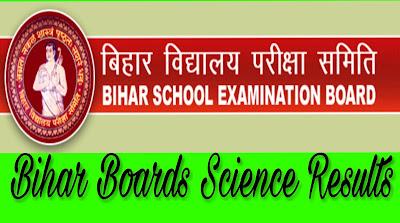 Bihar Board 12th science results 2017