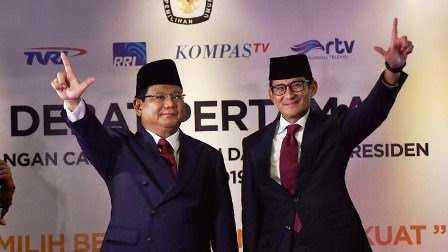Prabowo dan Sandiaga akan ke Aceh Hari Ini