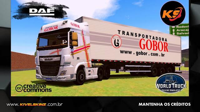 DAF XF - GOBOR TRANSPORTADORA