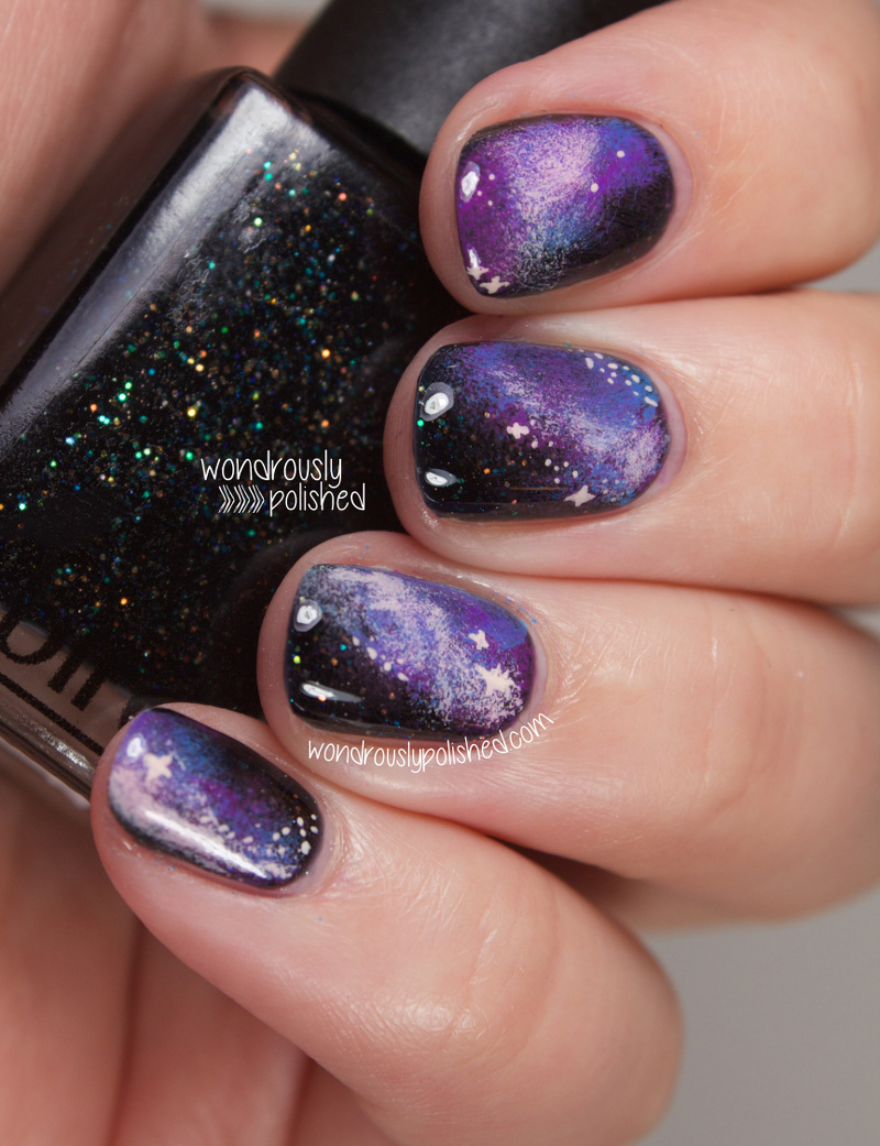 Wondrously Polished February Nail Art Challenge: Wondrously Polished: Two Birds Lacquer