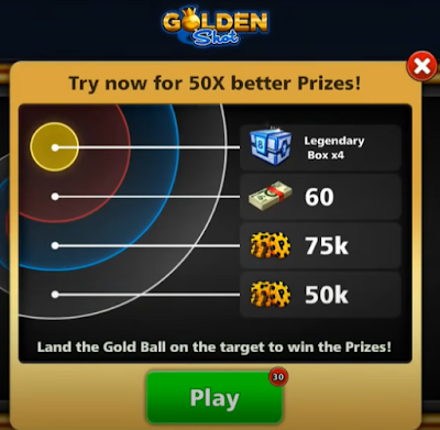 Golden Shot 8bp Buy and play offer