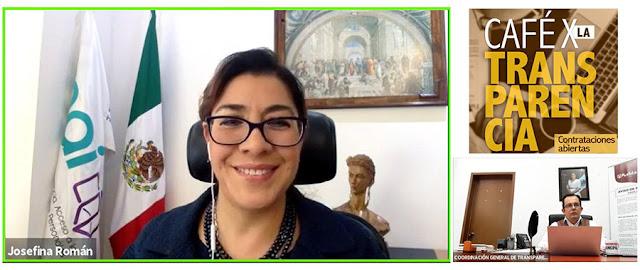Comisionada del Instituto Nacional de Transparencia, Acceso a la Información y Protección de Datos Personales (INAI), Josefina Román Vergara