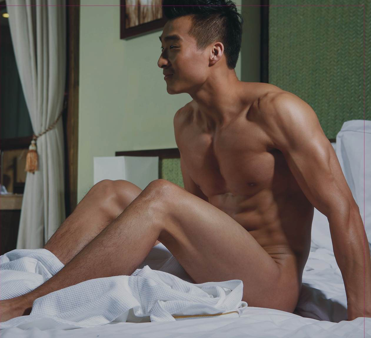 korean man naked