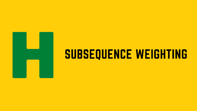 HackerRank Subsequence Weighting problem solution