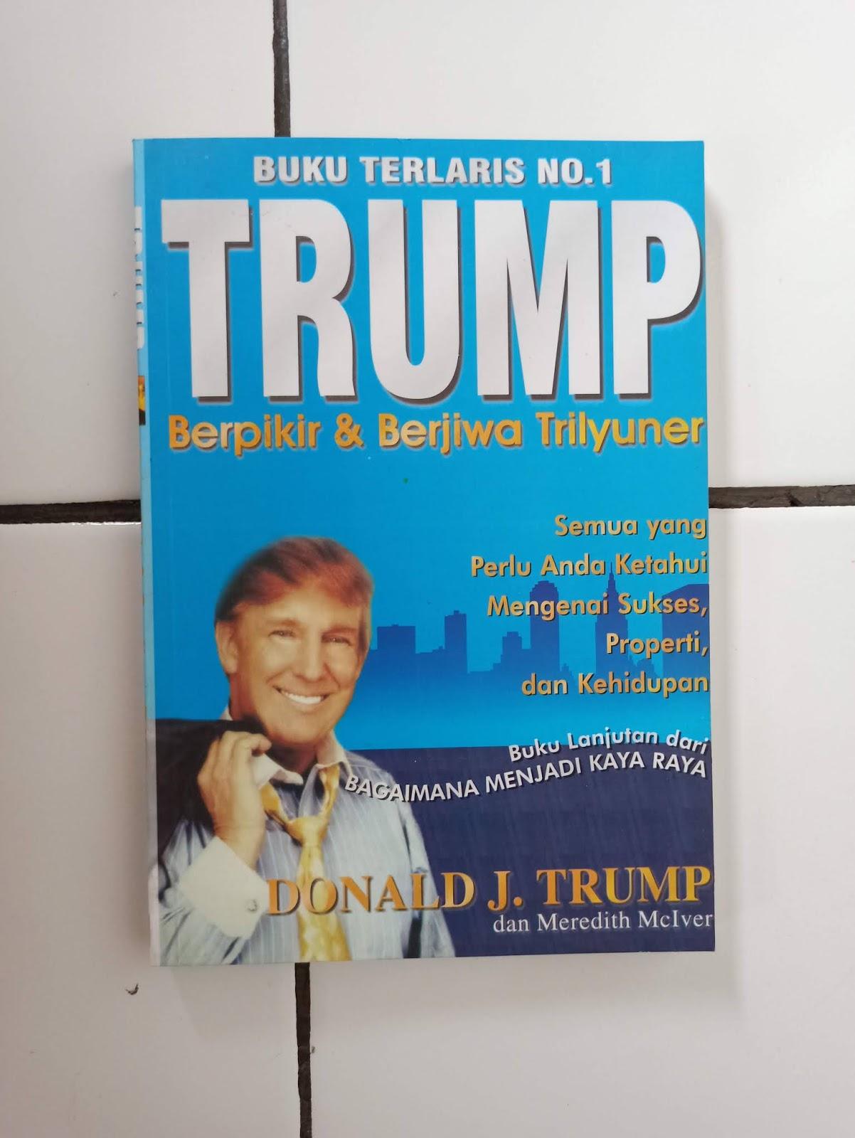 Buku Best Seller Trump Berpikir & Berjiwa Trilyuner