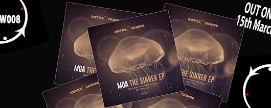 "Anticlockwise music ACW008 : Moa ""The Sinner"" Ep >>15/03/15 a la venta"