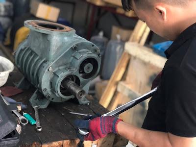 Sửa chữa máy thổi khí tại Sài Gòn