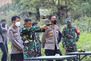 Jalin Sinergi, TNI-Polri dan Forkopimda Latihan Menembak