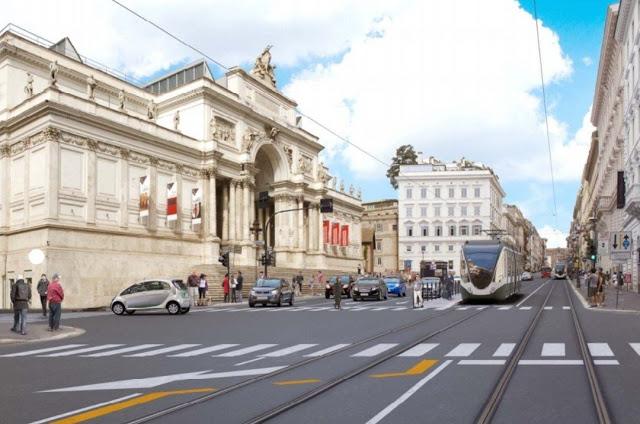 Tram, nasce la linea 1: da Termini a San Pietro attraverso le meraviglie di Roma