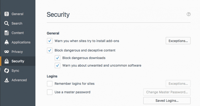 firefox-security-settings