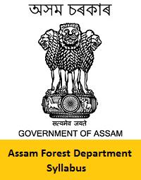Assam Forest Department Syllabus