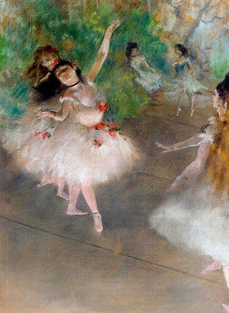 Эдгар Дега - Танцовщицы (1878)