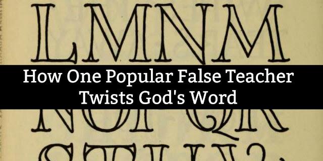 False Teachers, False Words, False Books: Christians Beware