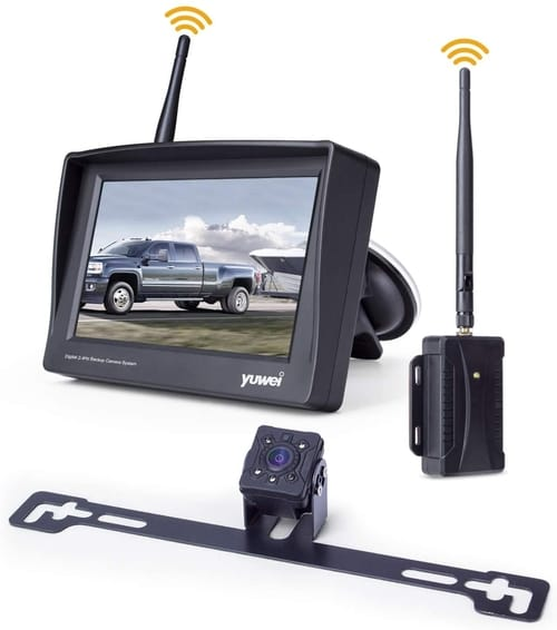 Yuwei Digital Wireless Backup Camera Kit