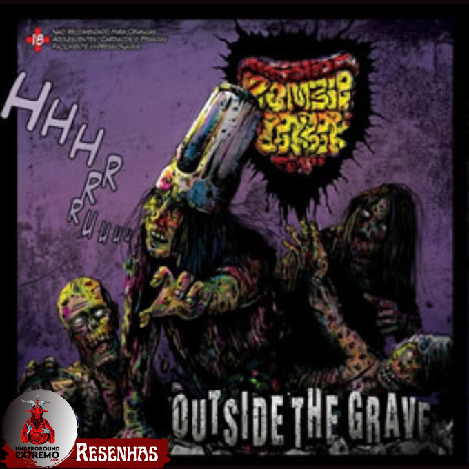 """Resenha #197: """"Outside to The Grave"""" (2012) - Zoombie CookBook"""
