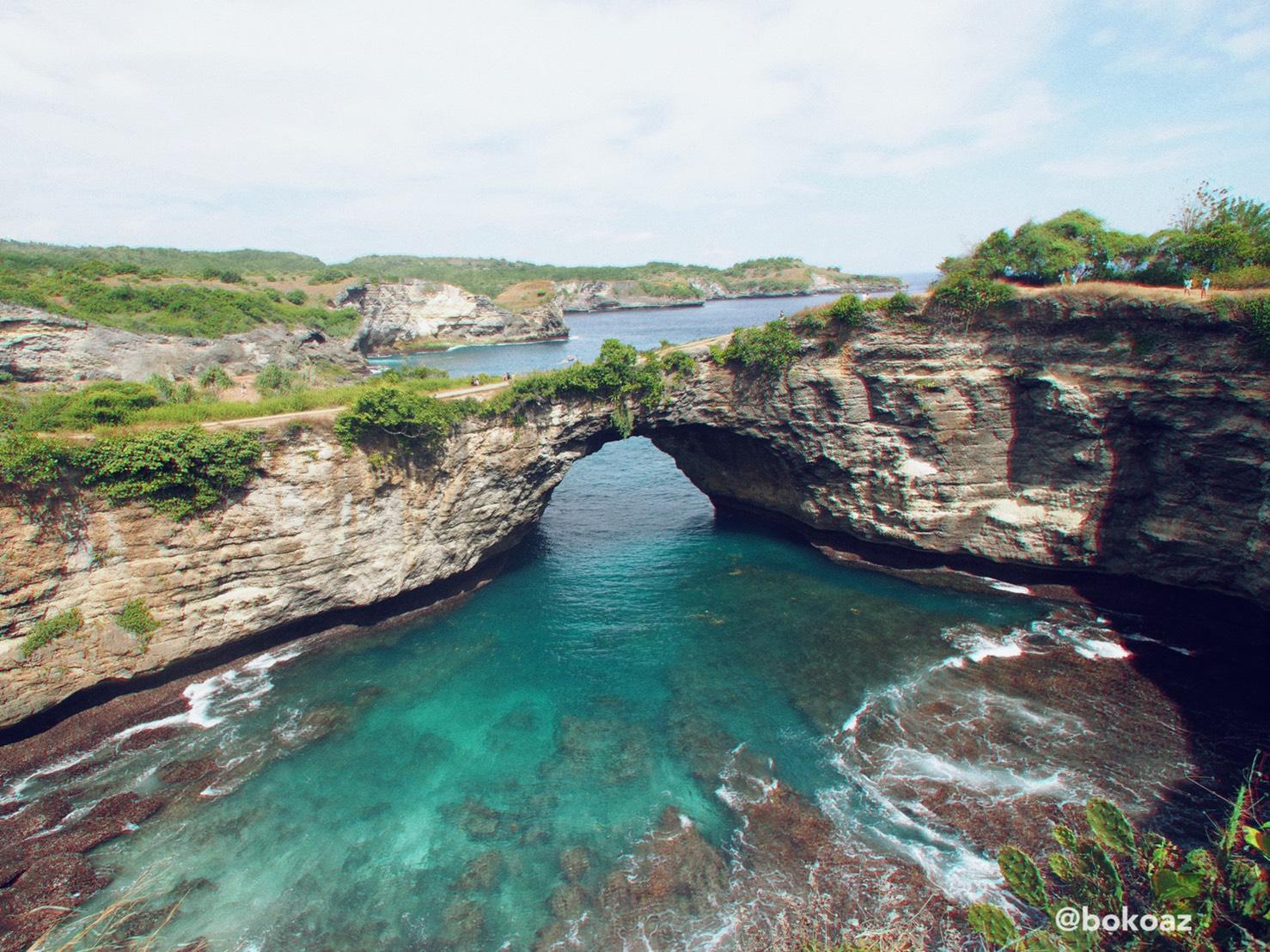 Broken Beach เกาะ Nusa Penida