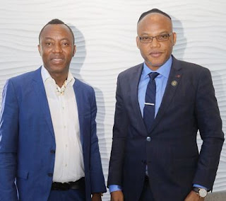 I have presented Biafra's case and Sowore's detention to the United Nations - Nnamdi Kanu