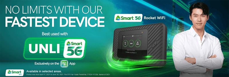 5G Rocket WiFi with UNLI 5G!