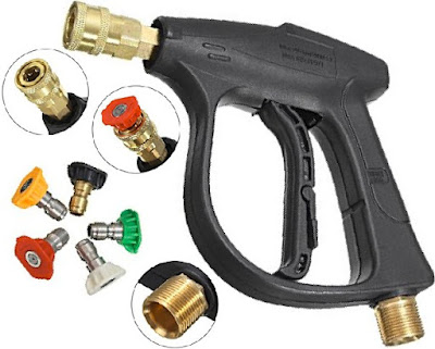 MATCC Car Washer Gun: 3000 PSI High Pressure Power Washers with Quick-Change Spray Nozzles