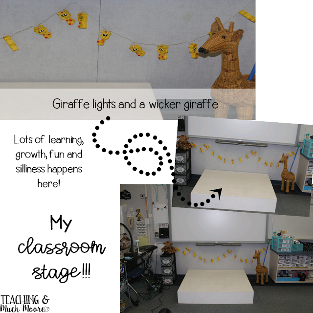 classroom tour, classroom reveal, classroom decor and set up plus a classroom stage.
