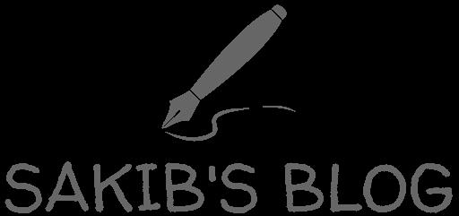 Sakib's Blog