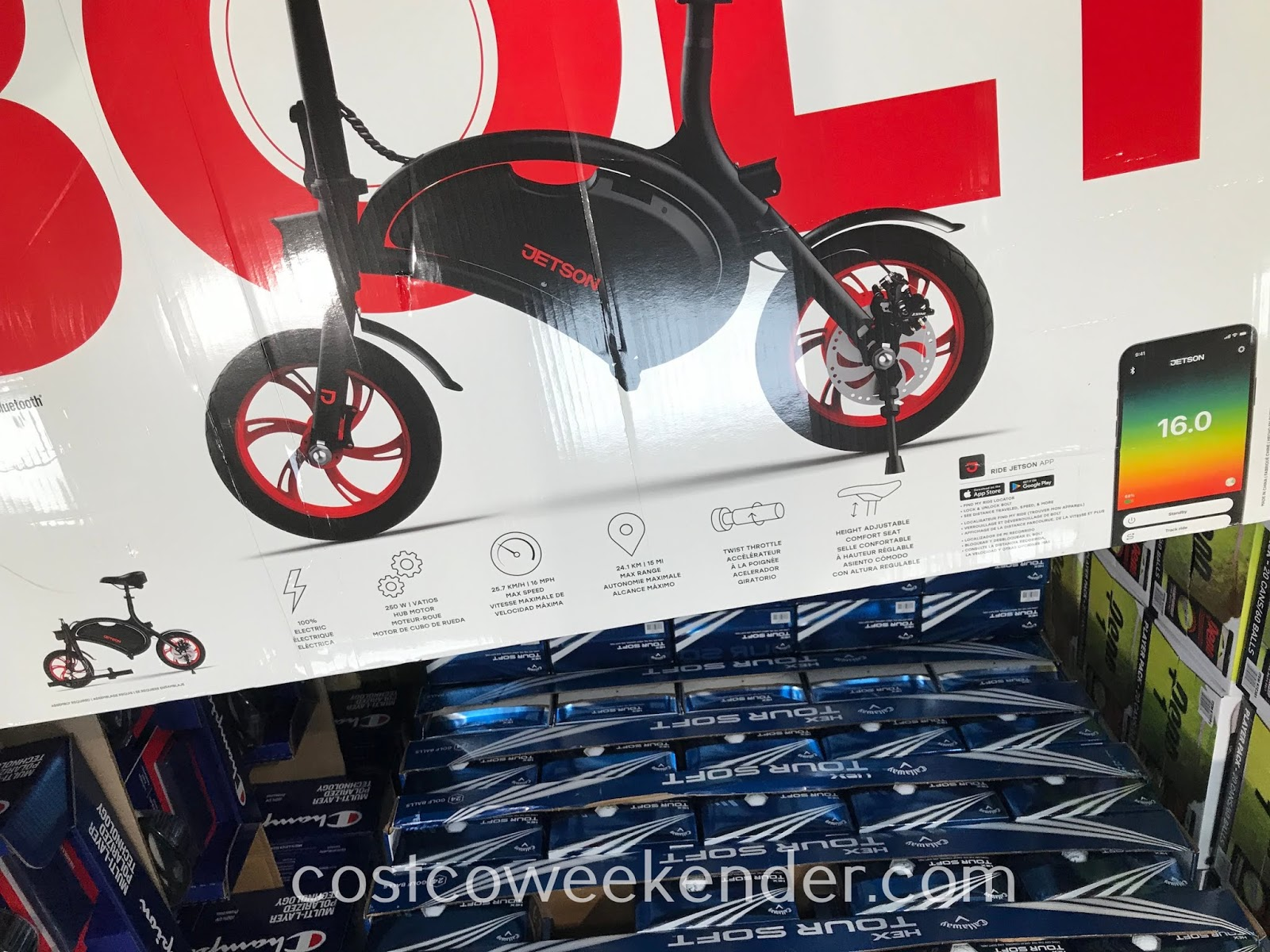 Costco 1266814 - Jetson Bolt Folding Electric Ride-On: great as a mode of transportation or recreation