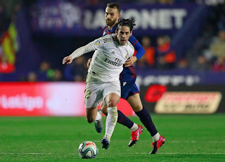 Crónica Levante 1 Real Madrid 0: Pinchazo inoportuno antes del Clásico