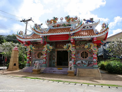 Chinese Temple in Maenam