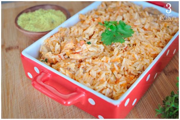 arroz de porco receita