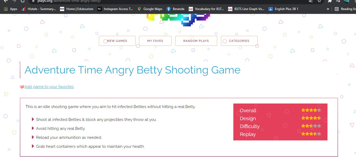 Review games Adventure Time Betty