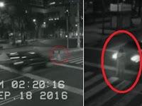Kamera CCTV Rekam Penampakan Nyata Sosok Hantu Wanita