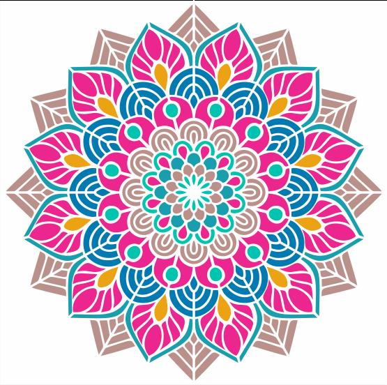 Mandalas Frases Mandala Y Frase Positiva