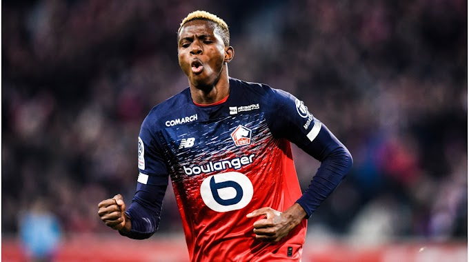 Spurs joined by Man Utd, Liverpool to sign Nigeria striker Osimhen
