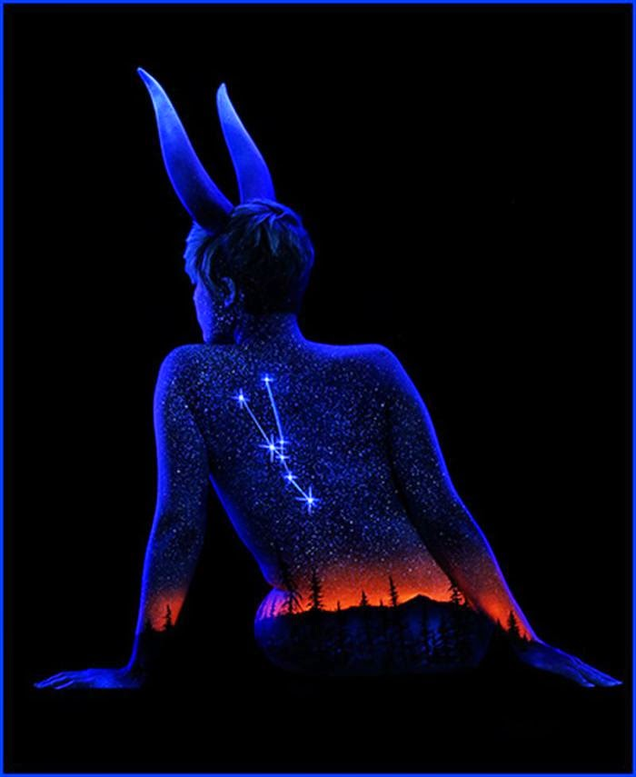 As mais belas pinturas corporal de John Poppleton