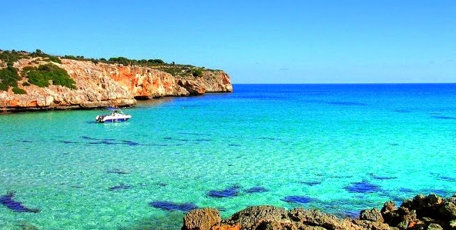 Vas a encontrar playas fantásticas por toda la isla de Mallorca