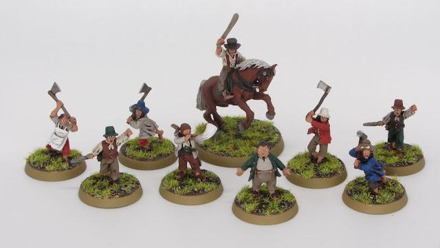Bandobras Tuk, Fredegar Bolger and Hobbit Militia