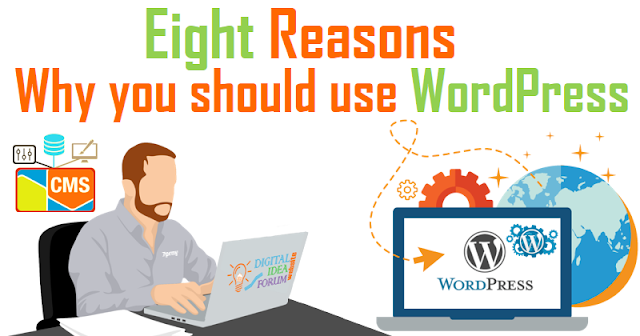 Eight reasons why you should use WordPress