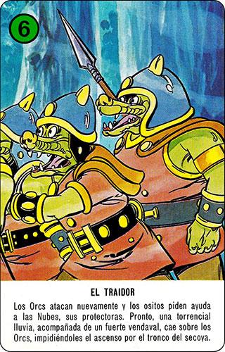 Baraja Dragones y mazmorras Heraclio Fournier Carta verde 6