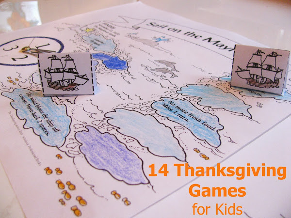 14 Thanksgiving Games and Activities for Kids