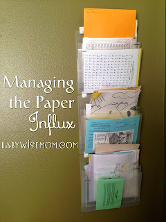 Managing the Paper Influx