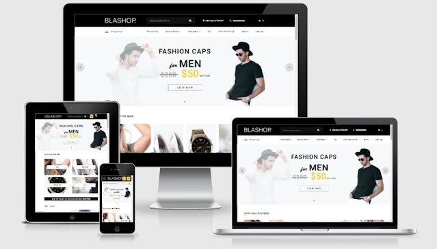 Blashop Blogger Template Free Download