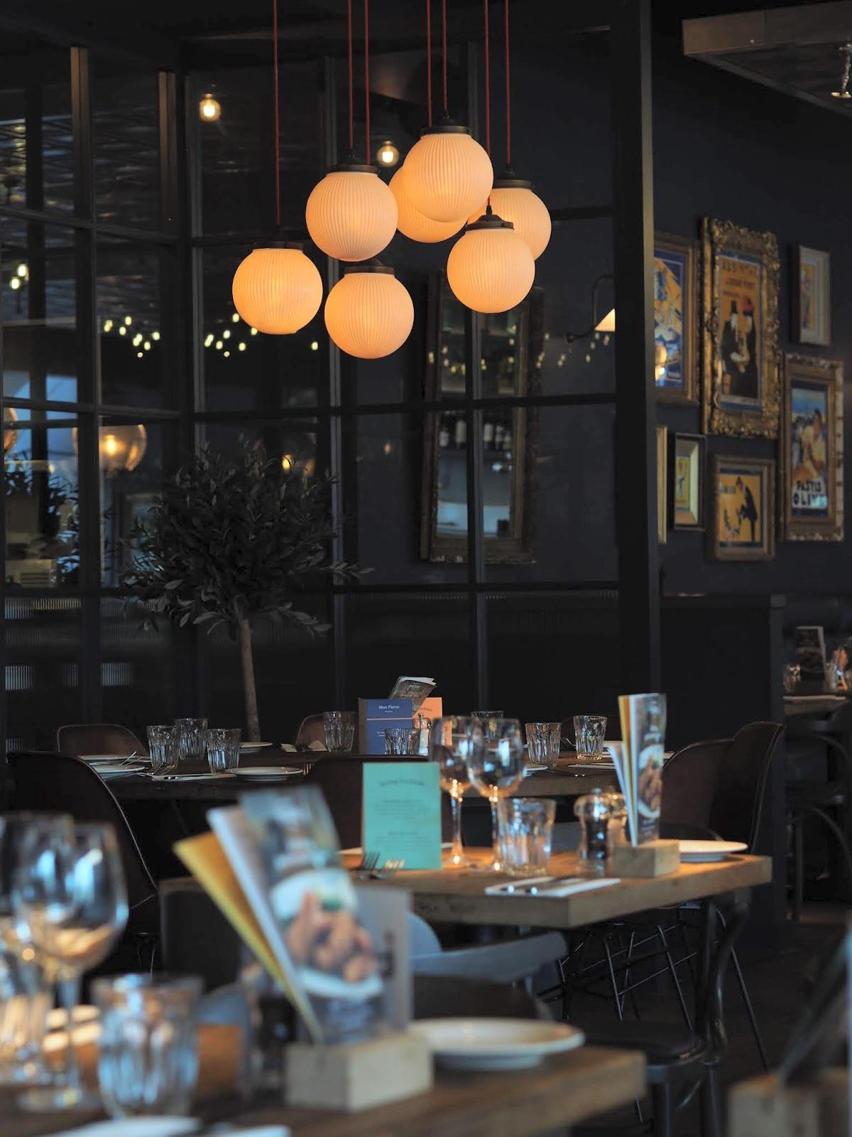 Bistrot Pierre Middlesbrough restaurant review interior
