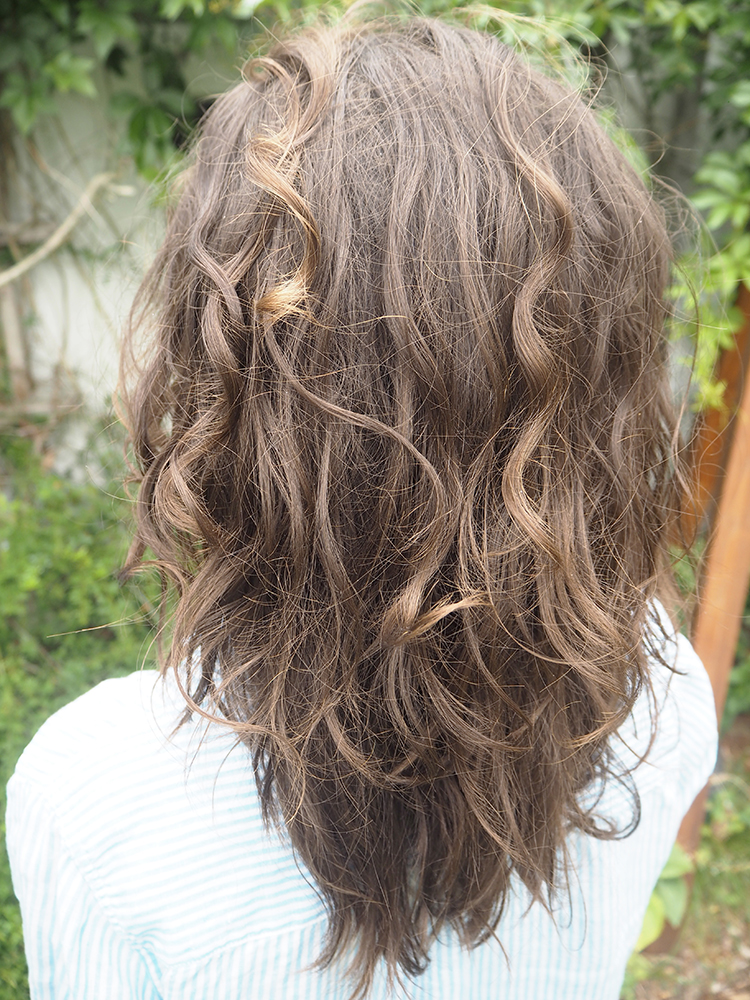 Haare Water Only + Curly Girl Method