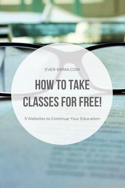 Do you want to keep taking classes just because you enjoy it, but don't have the money to do so? Here are 5 ways to enjoy learning for free. . .beyond the local library.