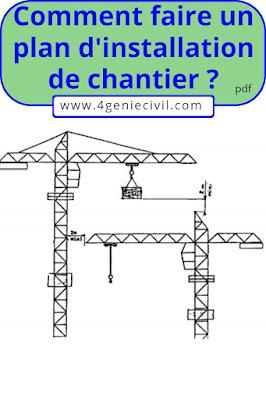 Méthodologie d'élaboration de plan d'installation de chantier