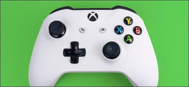 وحدة تحكم Xbox One S.