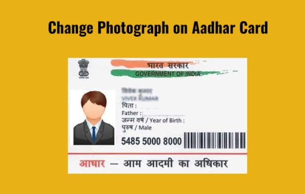 How to change photo in Aadhaar Card?